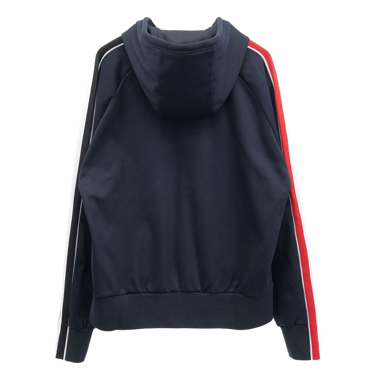 [お問い合わせ商品] THOM BROWNE. HOODIE PULLOVER W/ RMB STRIPE IN INTERLOCK / 415 : NAVY