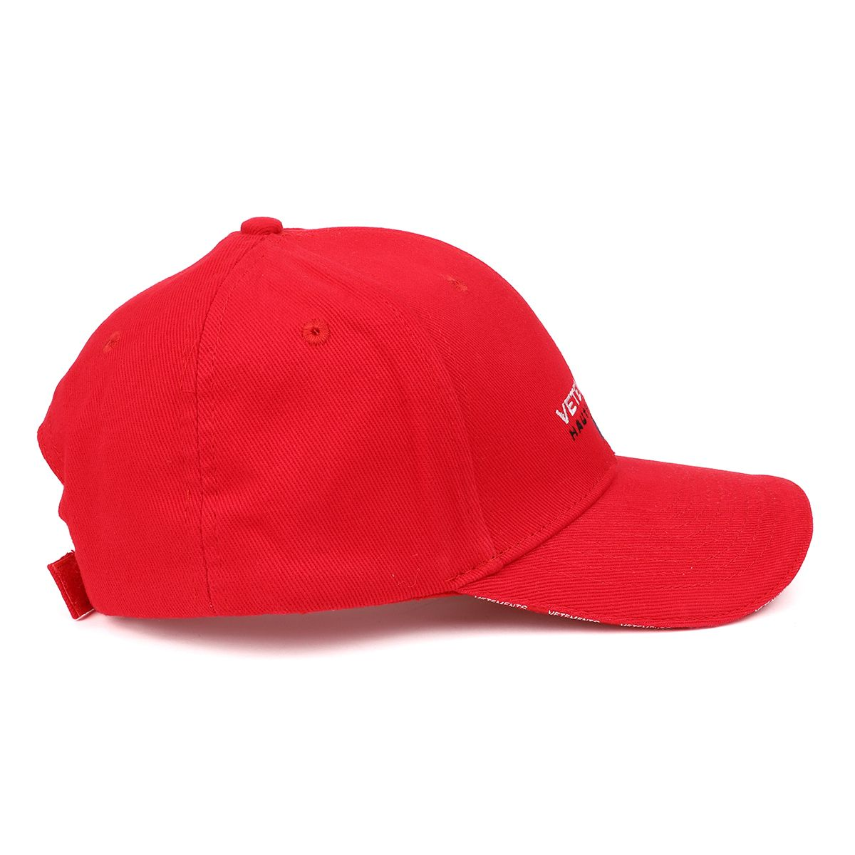 VETEMENTS VETEMENTS HAUTE COUTURE CAP / RED