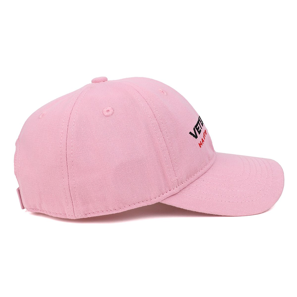 VETEMENTS VETEMENTS HAUTE COUTURE CAP / BABY PINK