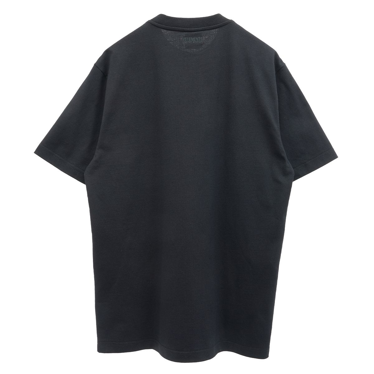 VETEMENTS THE LOGO T-SHIRT / BLACK