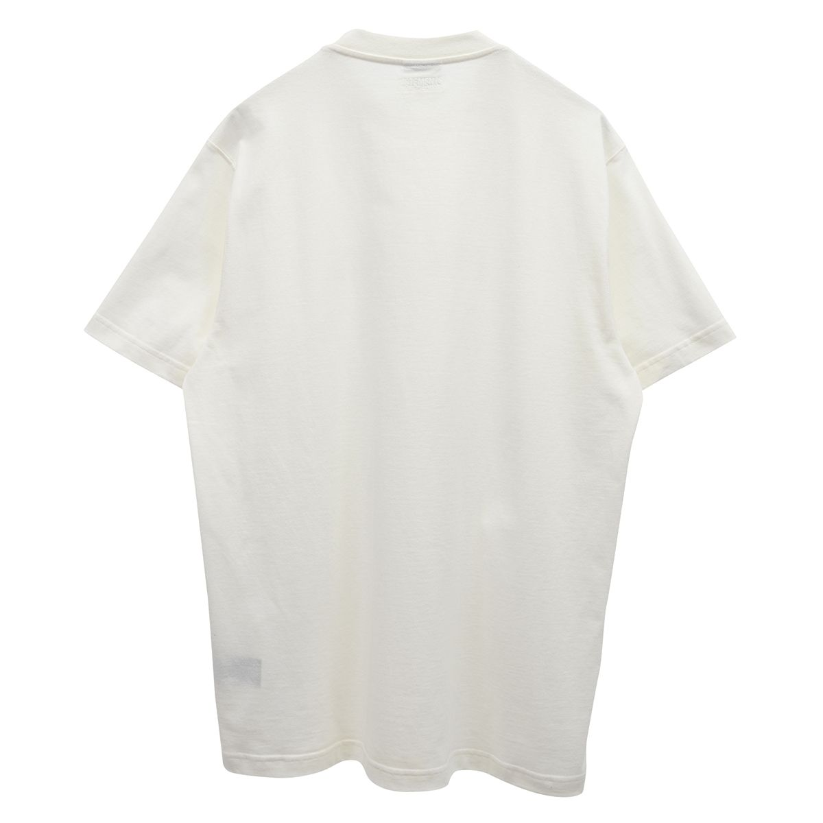 VETEMENTS THINK DIFFERENTLY LOGO T-SHIRT / WHITE