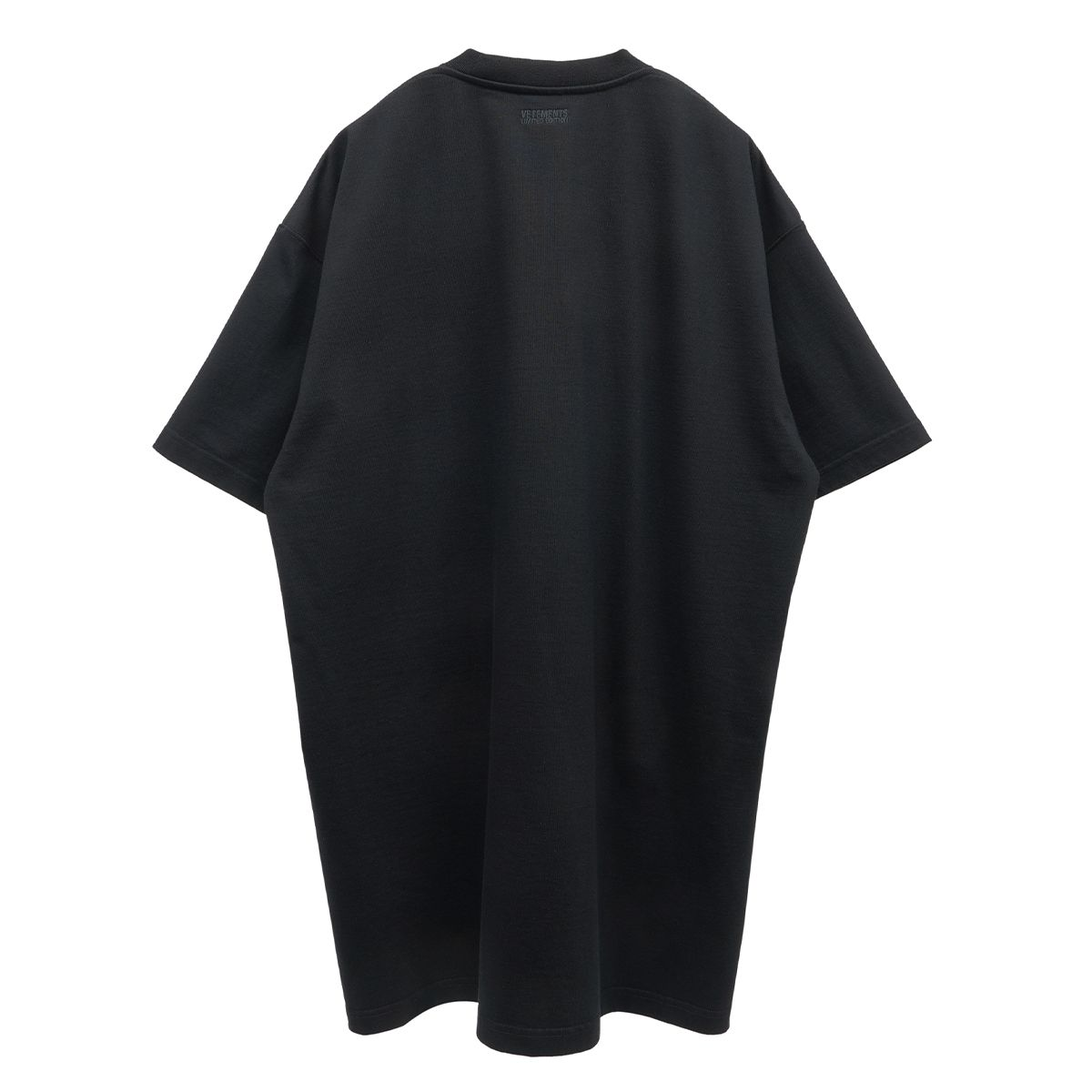 VETEMENTS SWEET LOGO T-SHIRT / BLACK