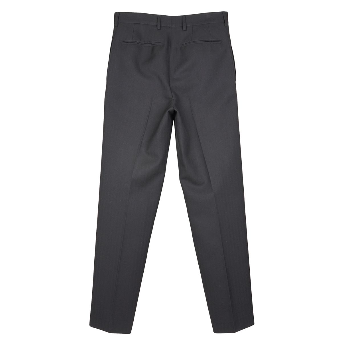 WE11DONE PEARL CHAIN BAGGY TROUSER / BLACK