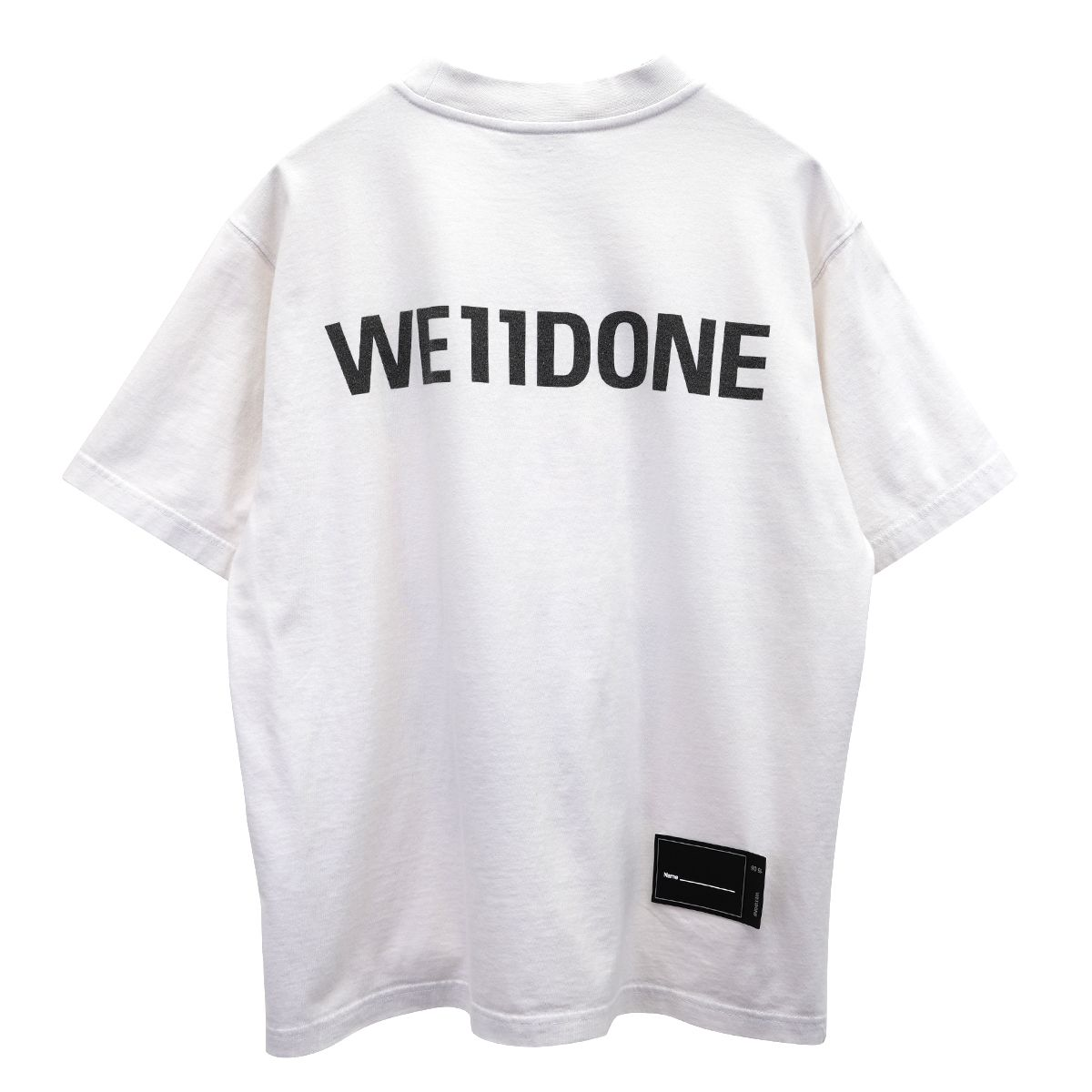 WE11DONE NEW MOVIE COLLAGE T-SHIRT / WHITE