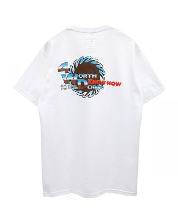 4WD TO THE KNOW-HOW TEE / WHITE