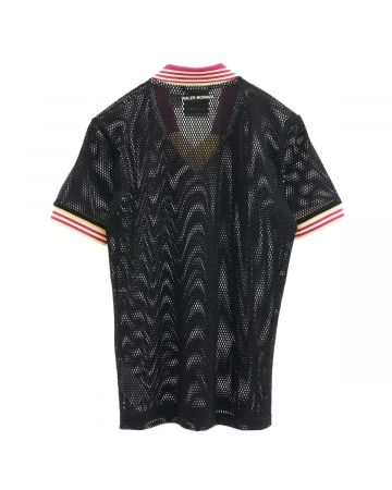 adidas Originals by WALES BONNER WB MESH POLO / BLACK