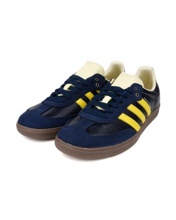 adidas Originals by WALES BONNER SAMBA / CONAVY-CWHITE-YELLOW