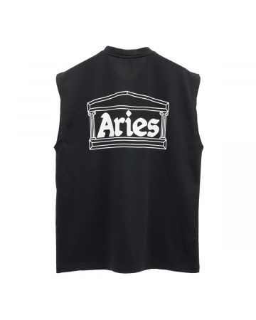 Aries ZIP VEST / BLACK