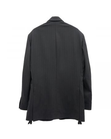 Aries TAILORED SINGLE BREASTED JACKET / BLACK