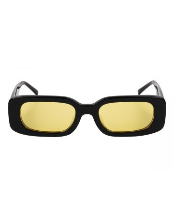 BONNIE CLYDE EYEWEAR SHOW AND TELL DLAM-SUNGLOW / BLACK(YELLOW LENS)