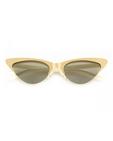 BONNIE CLYDE EYEWEAR LAYER CAKE-TRES LECHES / IVORY(GOLD)