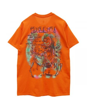 BILLIE EILISH by READYMADE READYMADE S/S Tee Orange / ORANGE