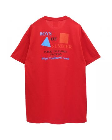BOYS OF SUMMER CPB T-SHIRT / RED