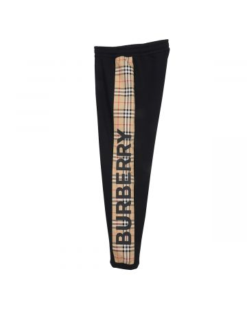 BURBERRY W JERSEY TROUSERS / A1189 : BLACK