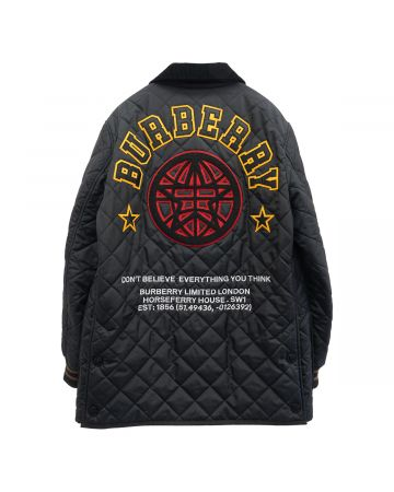 BURBERRY M QUILTS / A1189 : BLACK