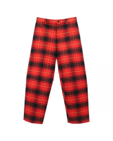 BALENCIAGA TGM10/PANTS / 6167 : RED-BLACK