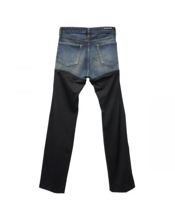 BALENCIAGA TDW14/PANTS / 8841 : DIRTY DARK