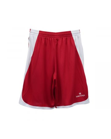 BALENCIAGA TJV05/SHORTS / 6540 : RED-WHITE