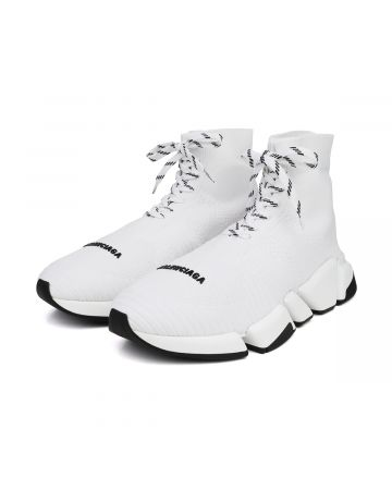 """EXCLUSIVE"" BALENCIAGA W2DB2/SPEED.2 LACE UP / 9014 : WHITE-WHITE"
