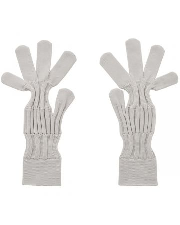 CFCL FLUTED GLOVES / LIGHT GRAY