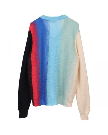 Charles Jeffrey LOVERBOY HOMEFRONT MOHAIR CARDIGAN / OMBRE