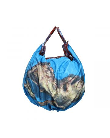 Chopova Lowena SCUBA BAG / BLUE MULTI