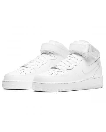 NIKE AIR FORCE 1 MID '07 / 111:WHITE-WHITE