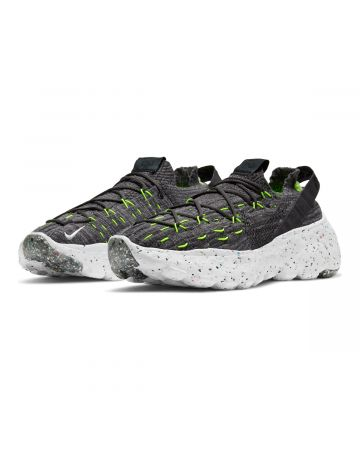 NIKE SPACE HIPPIE 04 / 010 : BLACK/BLACK-VOLT-WHITE