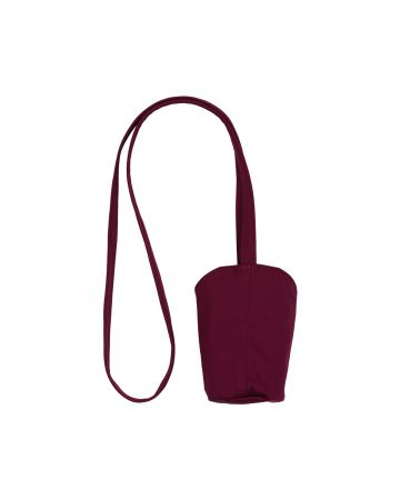 EDEN Power Corp FREMEN ORGANIC WATER BOTTLE BAG / 013 : PLUM-WHITE
