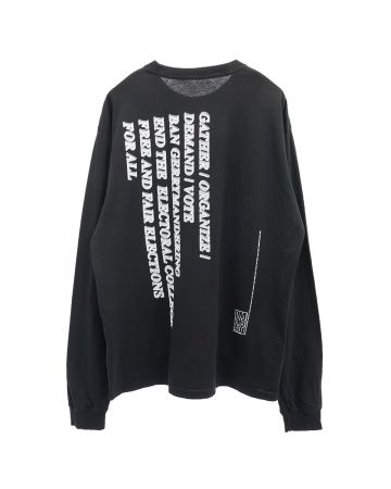 DM8H943 BLACK LIVES MATTER LONG SLEEVE / BLACK