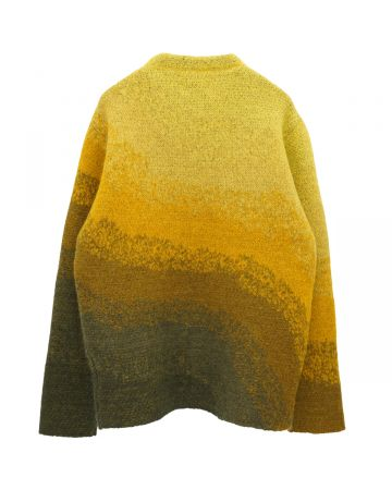 ERL BOWY SWEATER KNIT / YELLOW