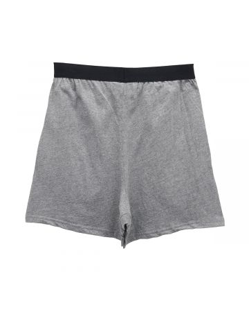 ESSENTIALS LOUNGE SHORT / 367 : HEATHER GREY