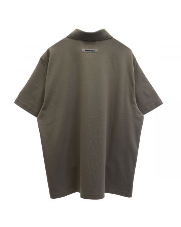 ESSENTIALS HO20 S/S POLO / 119 : TAUPE