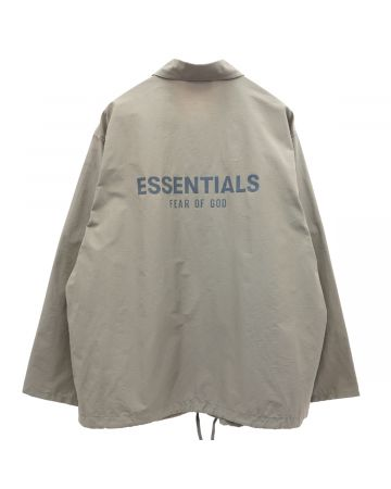 ESSENTIALS HO20 COACHES JACKET / 504 : CEMENT