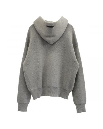 ESSENTIALS SP21 KNIT PULLOVER / 260 : HEATHER OATMEAL
