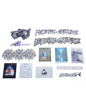 FUCKING AWESOME FA 2021 STICKER PACK / 13 ASSORTED STICKERS