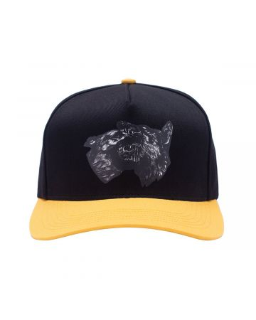FUCKING AWESOME DOGS SNAPBACK / BLACK-GOLD