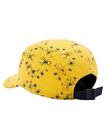 FUCKING AWESOME SPIDER STAMP VOLLEY STRAPBACK / YELLOW