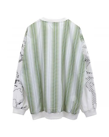 FUCKING AWESOME PULLOVER JACKET / OPTICAL GREEN
