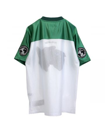 FUCKING AWESOME DOGS FOOTBALL JERSEY / GREEN-WHITE