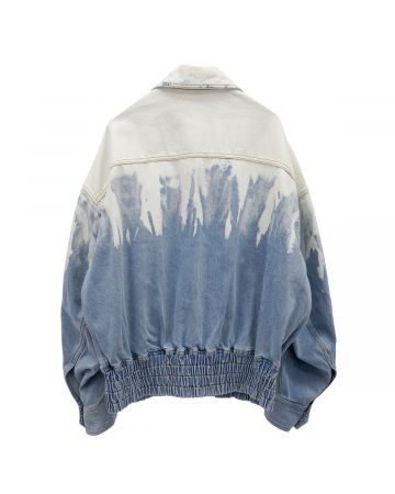 Feng Chen Wang LAYERED JACKET / BLUE