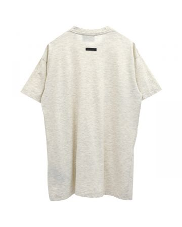 FEAR OF GOD SEVENTH COLLECTION BASEBALL TEE / 106 : CREAM HEATHER-RED