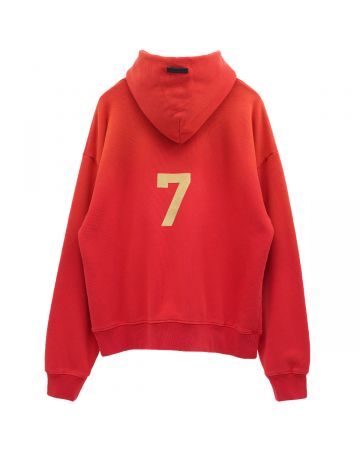 FEAR OF GOD SEVENTH COLLECTION 7 HOODIE / 646 : VINTAGE RED