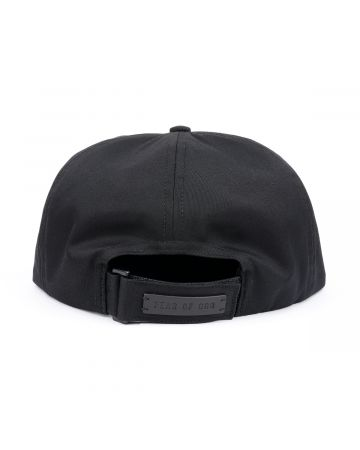 FEAR OF GOD SEVENTH COLLECTION 5 PANEL HAT / 001 : BLACK