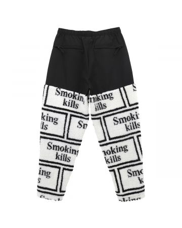 #FR2 SMOKING KILLS LOGO BOA PANTS / 001 : WHITE