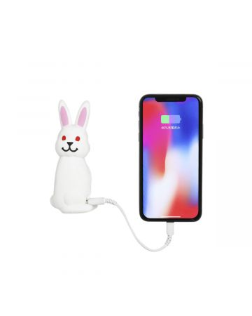#FR2 FXXKING RABBITS MOBILE BATTERY / 001 : WHITE