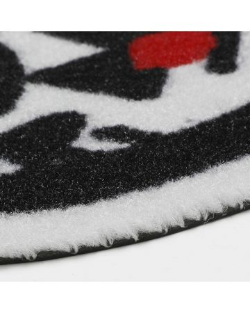 NISHIMOTO IS THE MOUTH Collaboration with #FR2 ENTRANCE MAT / 001 : WHITE