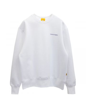 #FR2 F&V CREW SWEAT / 001 : WHITE