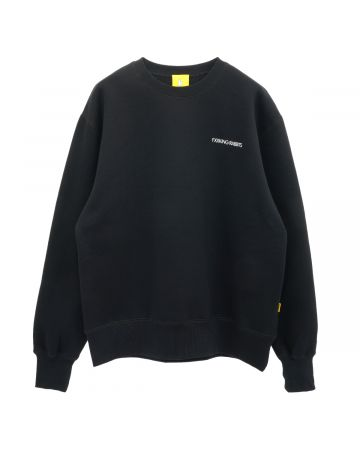 #FR2 F&V CREW SWEAT / 029 : BLACK