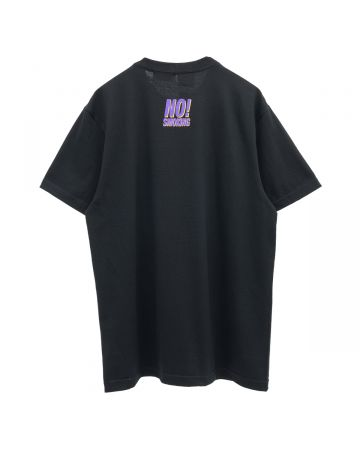 XLARGE collaboration with #FR2 NO SMOKING TEE / 029 : BLACK
